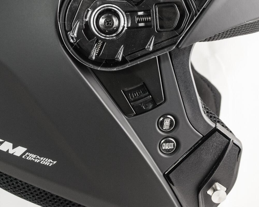 /Écran interne extra fume XS blanc CGM ALV-14 Casque convertible BERLINO Pinlock